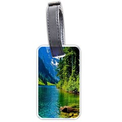 Beautiful Nature Lake Luggage Tags (one Side)  by Modern2018