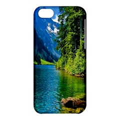 Beautiful Nature Lake Apple Iphone 5c Hardshell Case by Modern2018