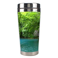 Backgrounds List Of Lake Background Beautiful Waterfalls Nature Stainless Steel Travel Tumblers by Modern2018