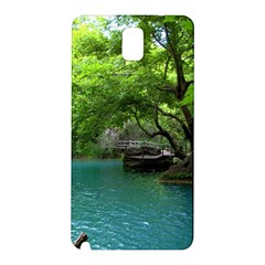 Backgrounds List Of Lake Background Beautiful Waterfalls Nature Samsung Galaxy Note 3 N9005 Hardshell Back Case by Modern2018