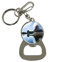 Beautiful Pagoda On Lake Nature Wallpaper Button Necklaces by Modern2018