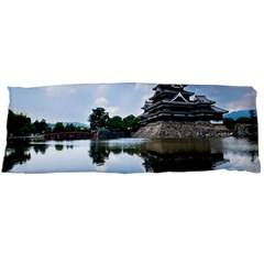 Beautiful Pagoda On Lake Nature Wallpaper Body Pillow Case Dakimakura (two Sides) by Modern2018