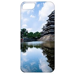 Beautiful Pagoda On Lake Nature Wallpaper Apple Iphone 5 Classic Hardshell Case by Modern2018