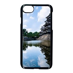 Beautiful Pagoda On Lake Nature Wallpaper Apple Iphone 8 Seamless Case (black) by Modern2018