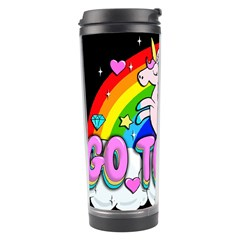 Go To Hell   Unicorn Travel Tumbler by Valentinaart