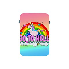 Go To Hell   Unicorn Apple Ipad Mini Protective Soft Cases by Valentinaart
