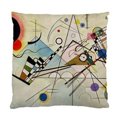 Composition 8   Vasily Kandinsky Standard Cushion Case (one Side) by Valentinaart