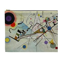 Composition 8   Vasily Kandinsky Cosmetic Bag (xl) by Valentinaart