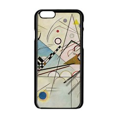 Composition 8   Vasily Kandinsky Apple Iphone 6/6s Black Enamel Case