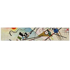 Composition 8   Vasily Kandinsky Large Flano Scarf