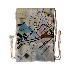 Composition 8   Vasily Kandinsky Drawstring Bag (small) by Valentinaart