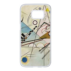 Composition 8   Vasily Kandinsky Samsung Galaxy S7 Edge White Seamless Case