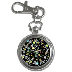 Space Pattern Key Chain Watches by Valentinaart