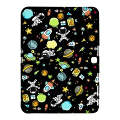 Space Pattern Samsung Galaxy Tab 4 (10 1 ) Hardshell Case  by Valentinaart