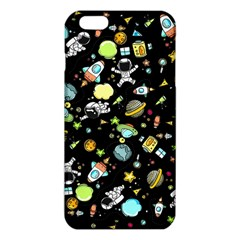 Space Pattern Iphone 6 Plus/6s Plus Tpu Case by Valentinaart