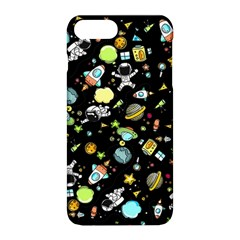 Space Pattern Apple Iphone 8 Plus Hardshell Case by Valentinaart