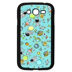 Space Pattern Samsung Galaxy Grand Duos I9082 Case (black)