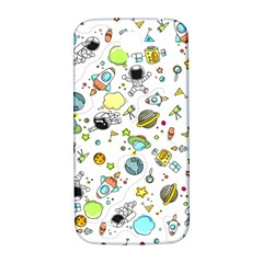 Space Pattern Samsung Galaxy S4 I9500/i9505  Hardshell Back Case by Valentinaart