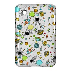 Space Pattern Samsung Galaxy Tab 2 (7 ) P3100 Hardshell Case