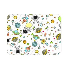 Space Pattern Double Sided Flano Blanket (mini)