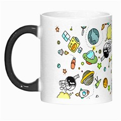 Space Pattern Morph Mugs by Valentinaart
