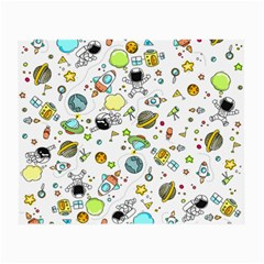 Space Pattern Small Glasses Cloth (2 Side)
