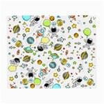 Space Pattern Small Glasses Cloth (2-Side) Front