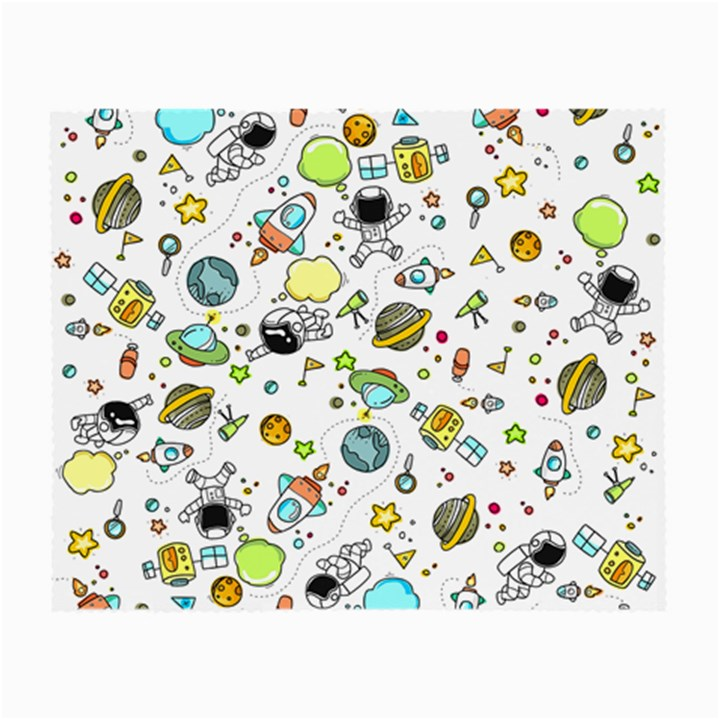 Space Pattern Small Glasses Cloth (2-Side)