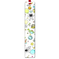 Space Pattern Large Book Marks