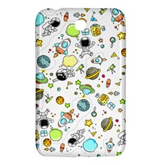 Space Pattern Samsung Galaxy Tab 3 (7 ) P3200 Hardshell Case  by Valentinaart