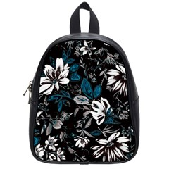 Floral Pattern School Bag (small) by Valentinaart