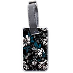 Floral Pattern Luggage Tags (one Side)  by Valentinaart