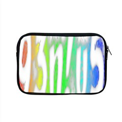 Genius Funny Typography Bright Rainbow Colors Apple Macbook Pro 15  Zipper Case by yoursparklingshop