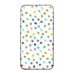 Dotted Pattern Background Brown Apple Iphone 4/4s Seamless Case (black) by Modern2018