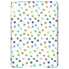 Dotted Pattern Background Brown Apple Ipad Pro 9 7   Hardshell Case by Modern2018