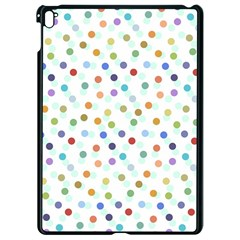 Dotted Pattern Background Brown Apple Ipad Pro 9 7   Black Seamless Case by Modern2018