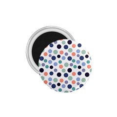 Dotted Pattern Background Blue 1 75  Magnets by Modern2018