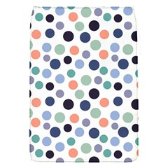Dotted Pattern Background Blue Flap Covers (s)  by Modern2018