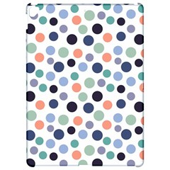 Dotted Pattern Background Blue Apple Ipad Pro 12 9   Hardshell Case by Modern2018