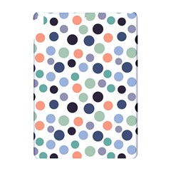 Dotted Pattern Background Blue Apple Ipad Pro 10 5   Hardshell Case by Modern2018