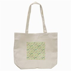 Dotted Pattern Background Full Colour Tote Bag (cream) by Modern2018