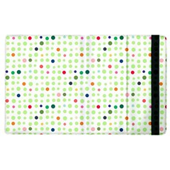 Dotted Pattern Background Full Colour Apple Ipad 3/4 Flip Case by Modern2018