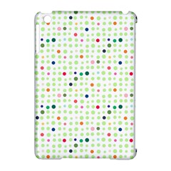 Dotted Pattern Background Full Colour Apple Ipad Mini Hardshell Case (compatible With Smart Cover) by Modern2018