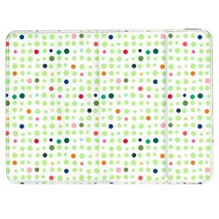 Dotted Pattern Background Full Colour Samsung Galaxy Tab 7  P1000 Flip Case by Modern2018