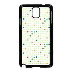 Dotted Pattern Background Full Colour Samsung Galaxy Note 3 Neo Hardshell Case (black) by Modern2018