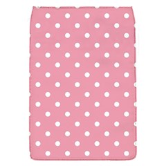 Pink Polka Dot Background Flap Covers (s)  by Modern2018