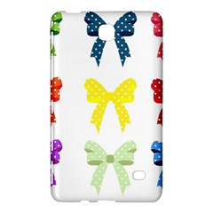 Ribbons And Bows Polka Dots Samsung Galaxy Tab 4 (7 ) Hardshell Case  by Modern2018