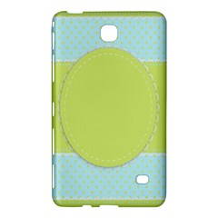 Lace Polka Dots Border Samsung Galaxy Tab 4 (7 ) Hardshell Case  by Modern2018