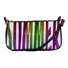 Summer Colorful Rainbow Typography Shoulder Clutch Bags by yoursparklingshop