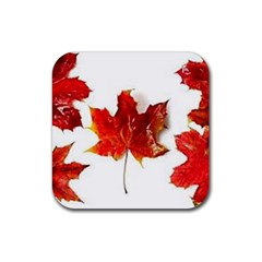 Innovative Rubber Square Coaster (4 Pack)  by GlobidaDesigns